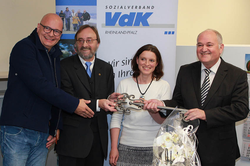 VdK-Kreisverband Neuwied bezog neue Geschäftsstelle