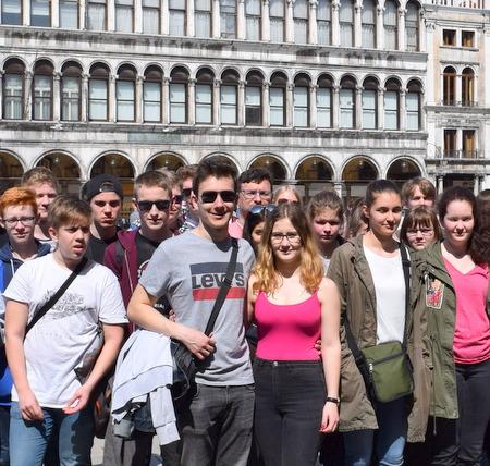 Bildungsfahrt führte nach Venedig