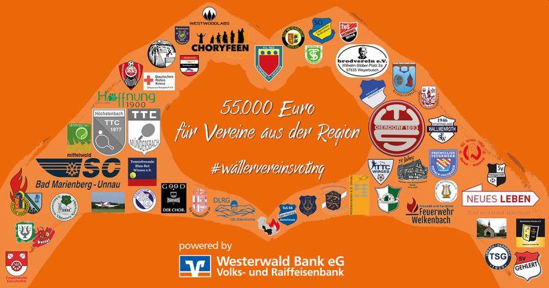 Wäller-Vereins-Voting: 55.000 Euro für Vereine aus der Region
