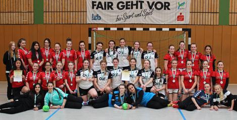 Spiel-Ergebnisse der Jugend-Handballerinnen des VfL Hamm