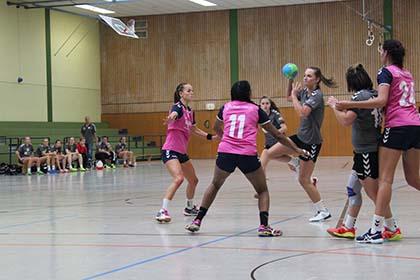 Handball-Damen des VfL Hamm unterlag dem TuS Daun