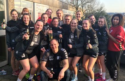 Handballerinnen des VfL Hamm vorzeitig Meister
