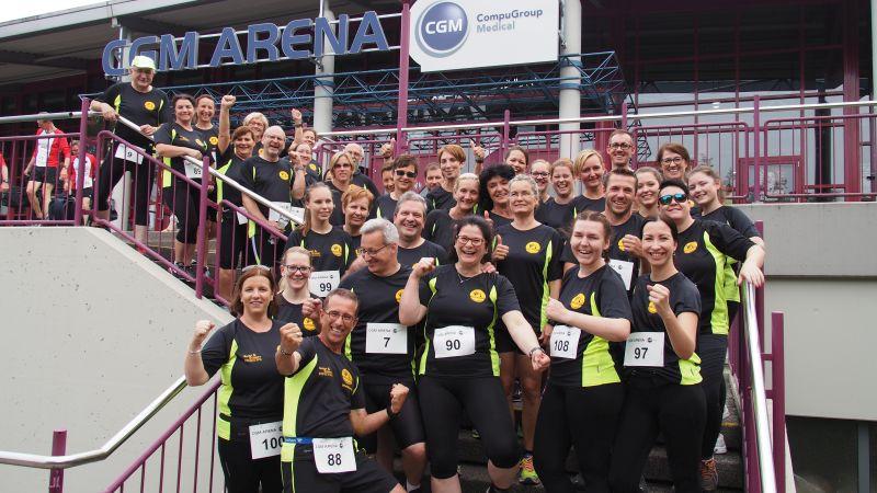 Läufer des VfL Waldbreitbach starteten in Koblenz