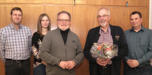 Versichertenberater Karl-Heinz Schelhas wurde verabschiedet