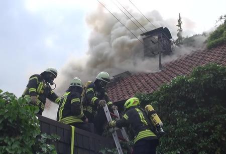 Eine Tote bei Wohnhausbrand in Vielbach