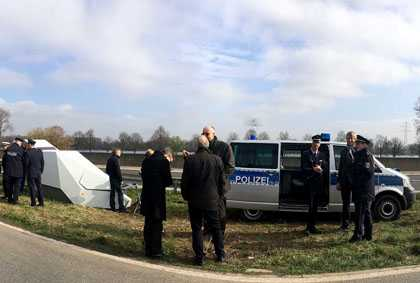 """Enforcement Trailer"" in Altenkirchen im Einsatz"