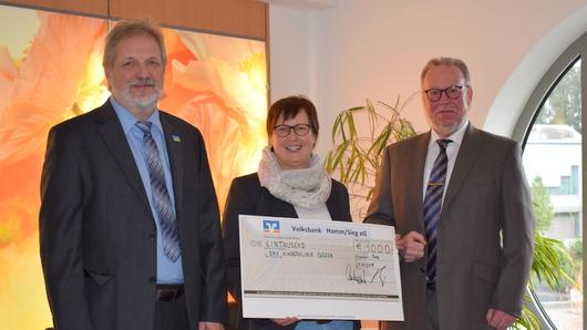 Hammer Volksbank spendet f�r DRK-Kinderklinik