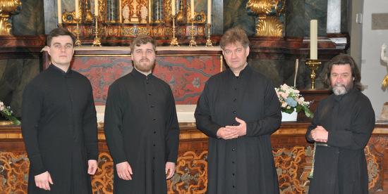 Zum Osterkonzert kommt das Vokalensemble Daniels-Chor