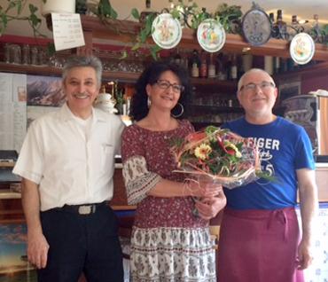 Pizzeria �La Volpe� in Horhausen feierte 30-j�hriges Bestehen