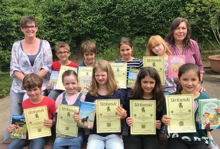 Viele gute Leser an der Martin-Luther-Grundschule Betzdorf