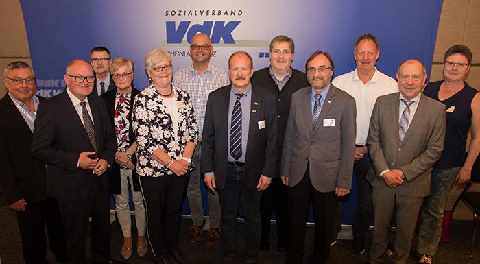Kaiser erneut in Vorstand des VdK Rheinland-Pfalz gewählt