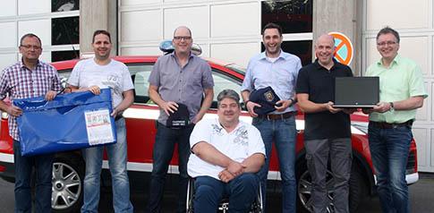 Neuer Vorstand beim F�rderverein der Feuerwehr Hamm/Sieg
