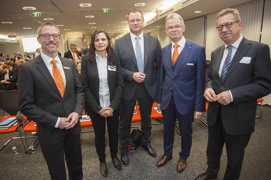 Neujahrsempfang bei der VR-Bank Neuwied-Linz