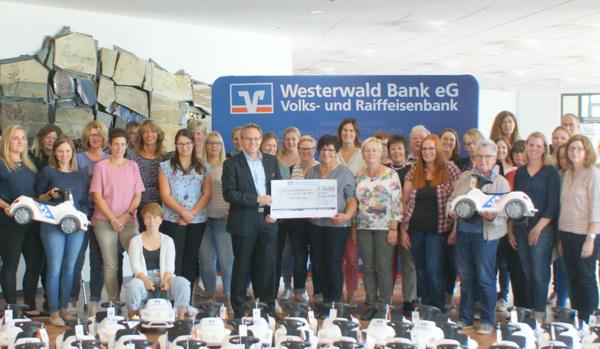 Die Westerwald Bank macht Kids mobil
