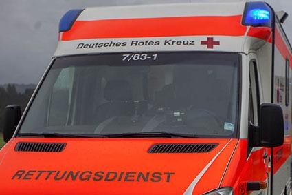 Vierj�hriges Kind bei Verkehrsunfall schwer verletzt