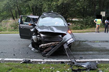 Schwerer Verkehrsunfall nach Abbiegefehler