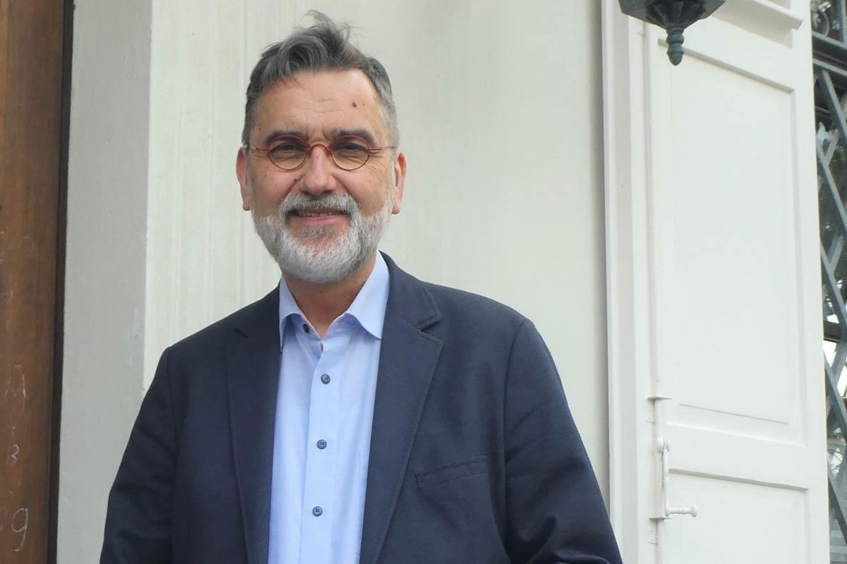 Pfarrer Thomas Darscheid nimmt Abschied. Fotos: Jürgen Grab