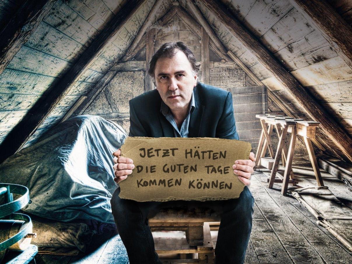 Kultur im Burggarten: Stefan Waghubinger kommt