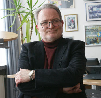 Michael Wagener informierte zum Rücktritt als Stadtbürgermeister von Wissen. Foto: Helga Wienand-Schmidt