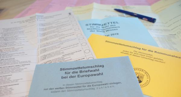 Kommunal- und Europawahlen laufen: Beteiligung höher als 2014