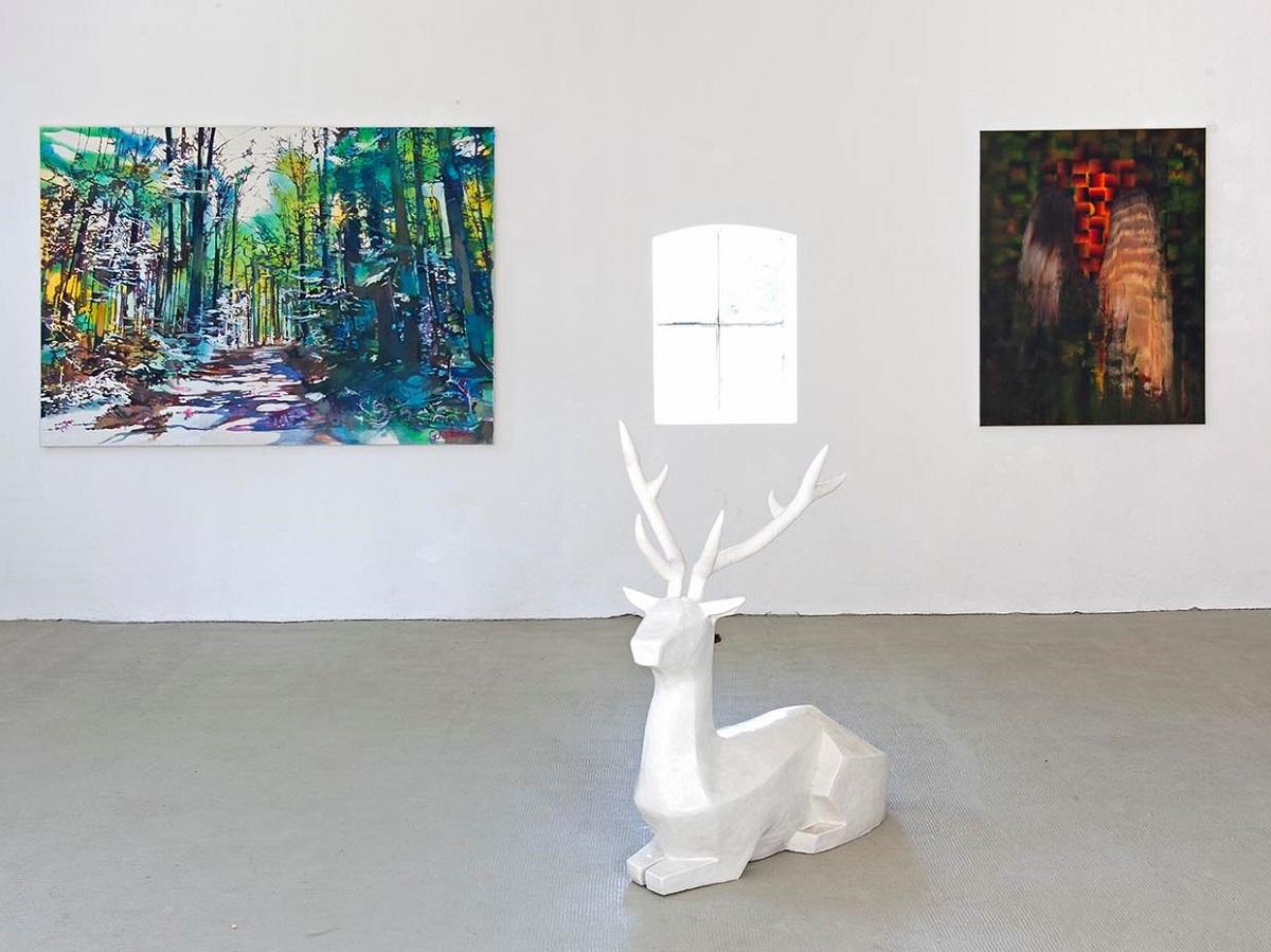 Molsberg: Einzigartige Kunstausstellung zum Mythos Wald