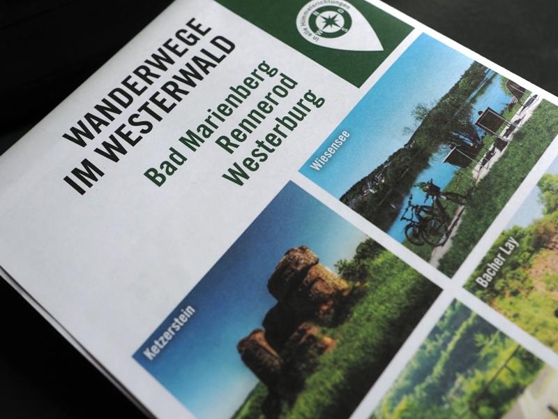 Drei Verbandsgemeinden bringen neue Wanderkarte heraus