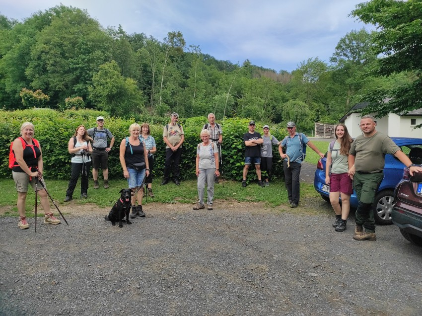"""Gruppenwanderung von """"Wandern im Westerwald"""" bis ans Ende der Welt"""