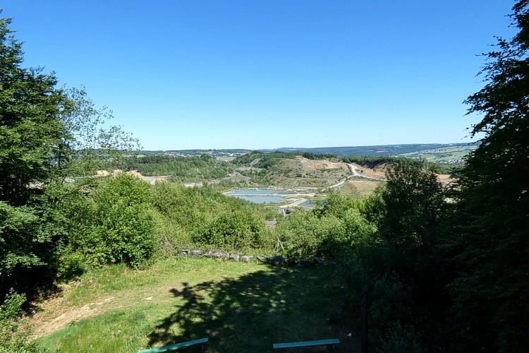 Blick vom Aussichtsturm Stöffelpark. Fotos: Axel Griebling