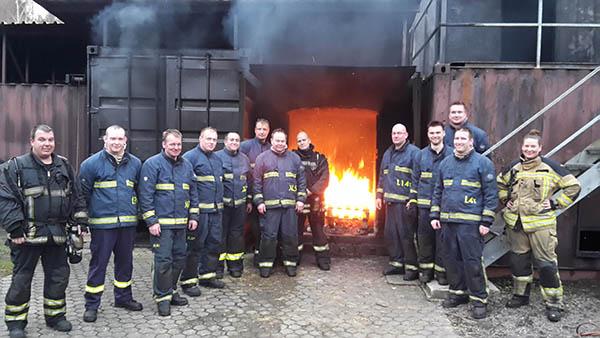 Feuerwehr Raubach an Wärmebildkamera ausgebildet