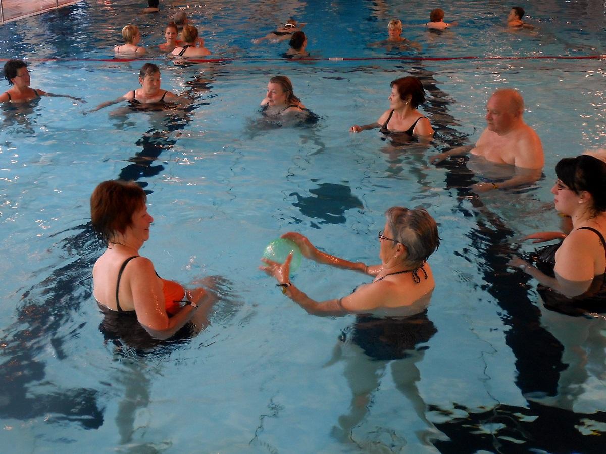 Reha-Schwimm-Unterricht im Löwenbad Hachenburg
