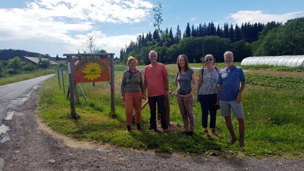 Ortsverband Bündnis 90/Die Grünen Linz besuchte Naturhof Stopperich