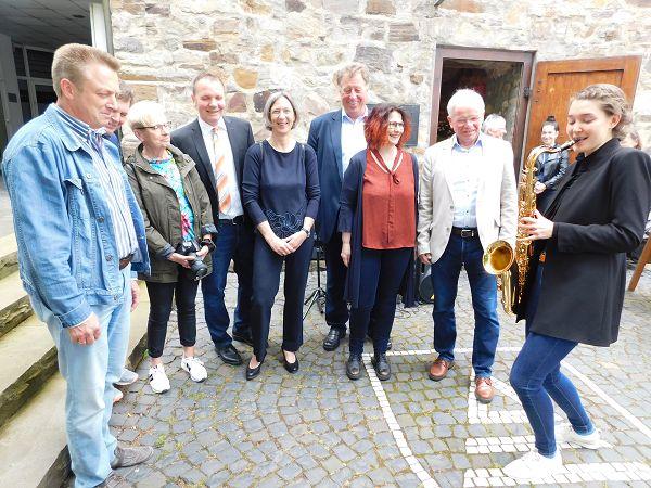 Die Uhrturm-Galerie in Dierdorf präsentierte Preisträger