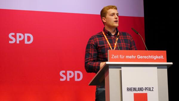 SPD-Landesliste zur Bundestagswahl � Diedenhofen auf Platz 13