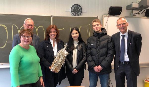 FDP-Politikerin Sandra Weeser besuchte heimische Berufsschulen
