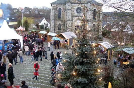Am zweiten Adventssonntag (9. Dezember) findet wieder der traditionelle Weihnachtsmarkt in Oberlahr statt.(Foto: Petra Schmidt-Markoski)