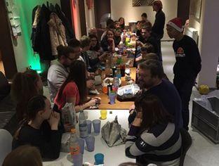 Weihnachtsfeier im Jugendzentrum Hachenburg