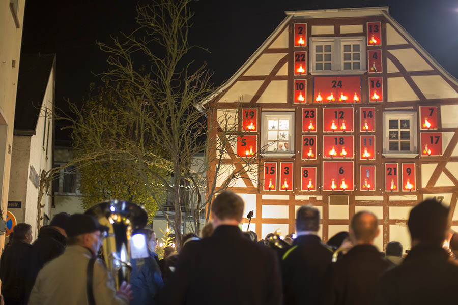 Weihnachtsdorf Waldbreitbach wird am 1. Dezember eröffnet