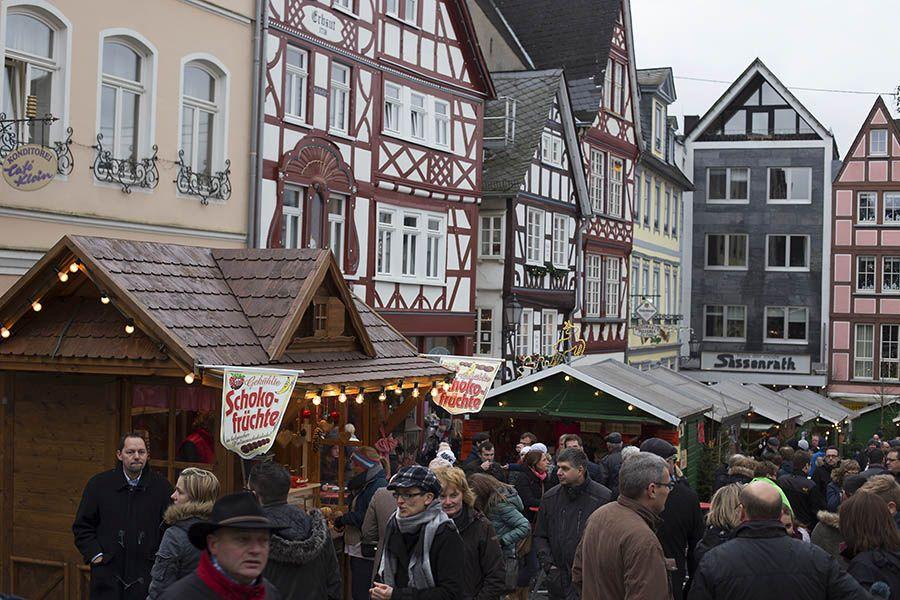 Weihnachtsmarkt in Hachenburg vom 12. bis 15. Dezember