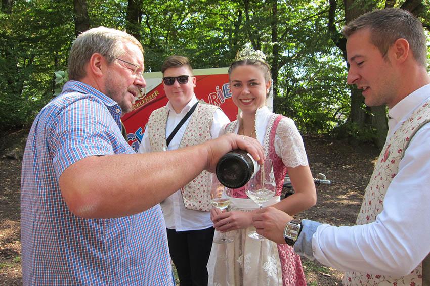SPD Melsbach feierte Weinfest