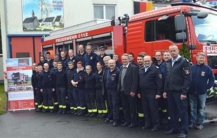Tag der offenen Tür bei der Feuerwehr in Weyerbusch