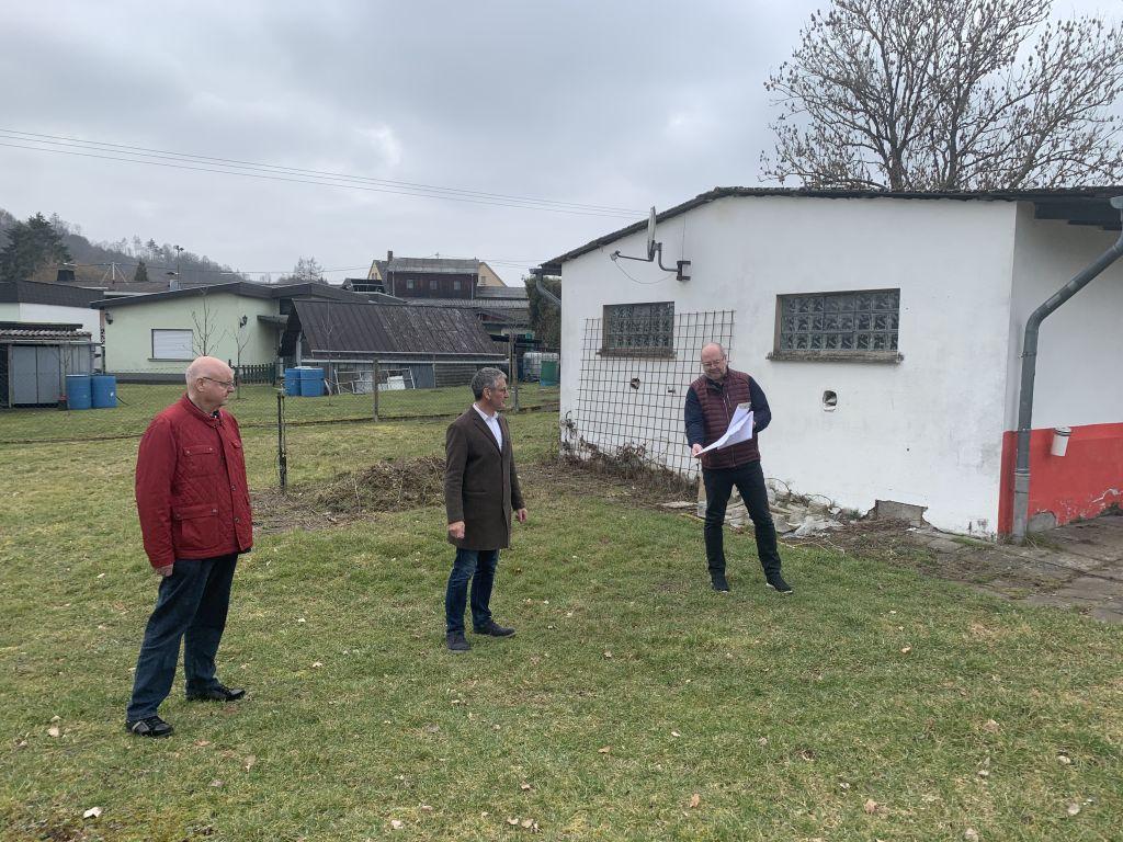 Landesmittel für den Neubau eines Gerätelagers in Willmenrod