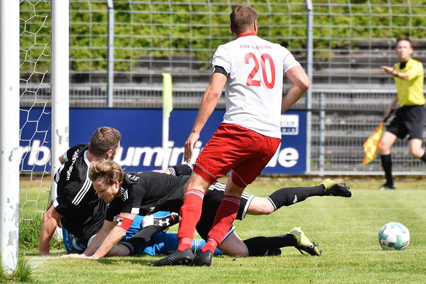 SV Windhagen gegen Salmrohr kurz vor Schluss erfolgreich