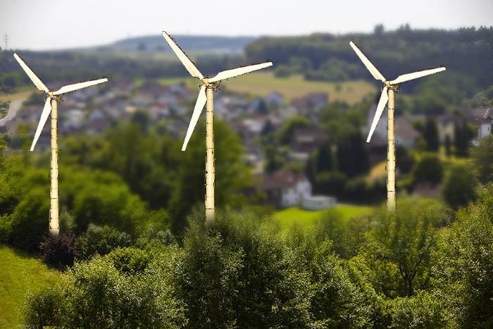 """Um eventuelle Windkraftanlagen in der """"Kuhheck"""" wird immer noch gestritten. Symbolfoto"""