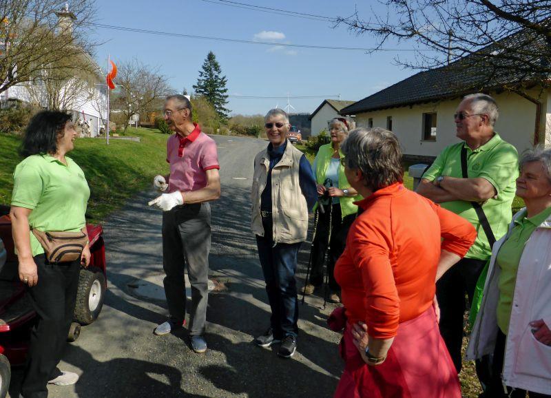 WWV Bad Marienberg: Spaziergang zu den Windskulpturen