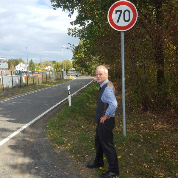 SPD beantragt Verkehrssicherung auf der Hallerbacher Straße