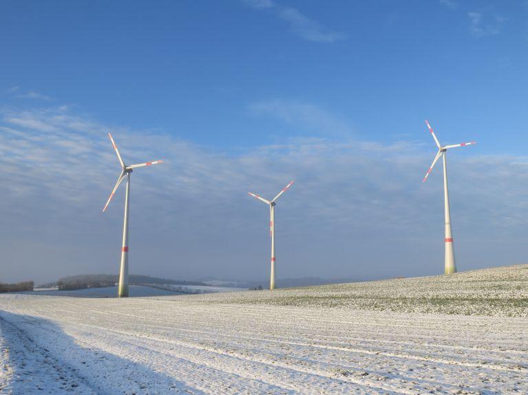 Im nördlichen Rheinland-Pfalz ist die Nennleistung der Windkraftanlagen in den vergangenen 15 Jahren deutlich gestiegen. Foto: SGD Nord