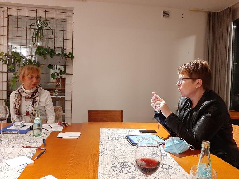 Dr. Tanja Machalet beim Ortsverein Oberes Wiedtal