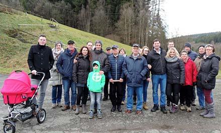 Winterwanderung des CDU-Ortsverbandes in Mudersbach