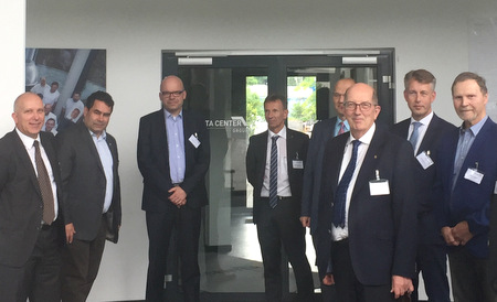 Wirtschaftsrat besuchte Wallmenrother Data Center Group