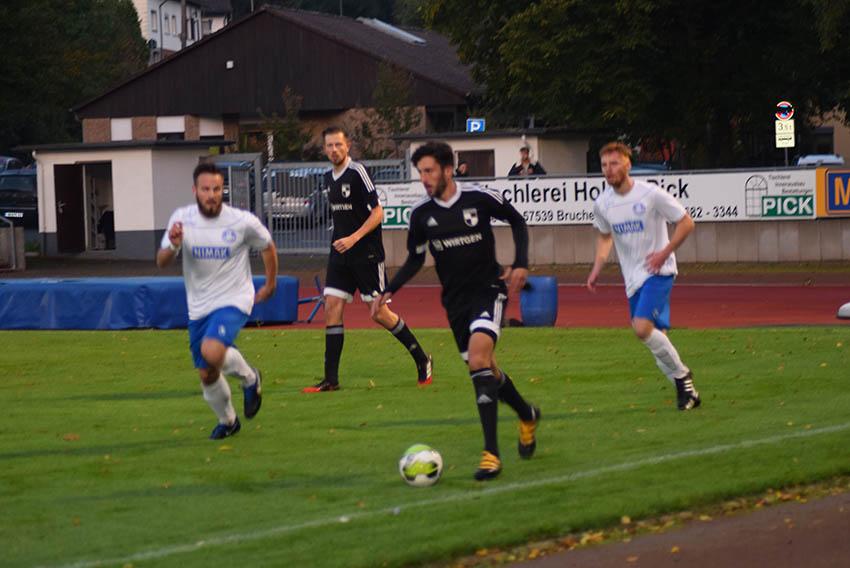 VfB Wissen in den weißen Trikots. Fotos: Erwin Höller